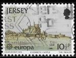Sellos del Mundo : Europa : Reino_Unido : Jersey-Cambio