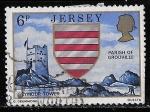 sellos de Europa - Reino Unido -  Jersey-Cambio