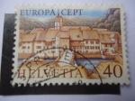 sellos de Europa - Suiza -  St. Ursanne - Europa C.E.P.T