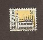 Stamps Czechoslovakia -  Ciudad de Levoca