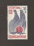Stamps Czechoslovakia -  XX Aniv. Golpe Estado de Feb. 1948