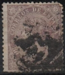 Stamps : Europe : Spain :  Isabel II