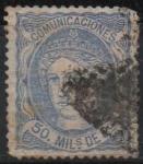 Stamps Spain -  Aegoria