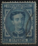 Stamps : Europe : Spain :  Alfonso II