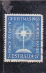 Stamps Australia -  NAVIDAD-63