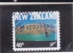 Sellos del Mundo : Europa : Nueva_Zelanda : 100 ANIVERSARIO TURISMO