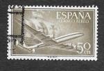 Sellos de Europa - España -  Edf 1171 - Avión y Nao Santa María