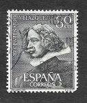 Stamps Spain -  Edf 1340 - III Centenario de la Muerte de Velázquez