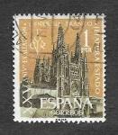 Stamps Spain -  Edf 1373 - XXV Aniversario de la Exaltación del General Franco a la Jefatura de Estado