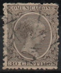 Stamps Spain -  Alfonso XIII