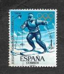 Sellos de Europa - España -  Edf 1619 - JJOO InNsbruck y Tokio