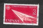 Sellos de Europa - España -  Edf 1671 - Avión de Papel