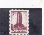 Stamps Romania -  MAUSOLEO