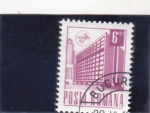Stamps : Europe : Romania :  EDIFICIO TELELEFÓNICA