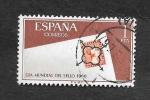 Sellos de Europa - España -  Edf 1724 - Día Mundial del Sello