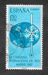 Stamps Spain -  Edf 1817 - XII Congreso Internacional del Frío
