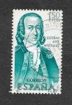 Sellos de Europa - España -  Edf 1823 - Forjadores de América