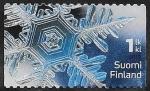 Stamps Finland -  2396 - Cristal de hielo