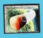 Stamps Equatorial Guinea -  ACCIDENTE --  TROMBOSIS  GRAVITACIONAL