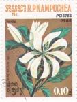 Stamps Cambodia -  FLORES-MAGNOLIA
