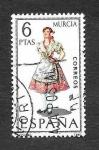 Stamps : Europe : Spain :  Edf 1906 - Trajes Típicos Españoles