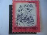 Stamps Austria -  Lindauer Hütte-Ratikon