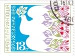 Stamps : Europe : Bulgaria :  10 ANIVERSARIO PALOMA DE LA PAZ