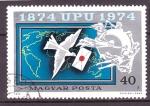 Stamps Hungary -  Centenario UPU