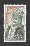 Sellos de Europa - España -  Personajes Españoles