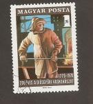 Sellos de Europa - Hungría -  II Centenario de la 1ª fabrica metalúrgica  en  Dyosgyor