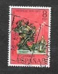 Sellos de Europa - España -  Edf 2212 - Centenario de la Unión Postal Universal (1874-1974)