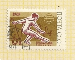 Stamps Russia -  Gimnasia