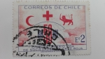 Stamps Chile -  Cruz roja