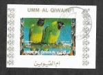 Sellos del Mundo : Asia : Emiratos_Árabes_Unidos : Mi1249BwBl - Aves