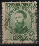 Stamps Spain -  Joaquin Costa