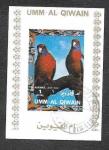 Sellos de Asia - Emiratos Árabes Unidos -  MI1255BwBl - Aves