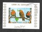 Sellos del Mundo : Asia : Emiratos_Árabes_Unidos : Mi1412BwBl - Aves
