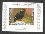 Sellos de Asia - Emiratos Árabes Unidos -  Mi1411BwBl - Ave