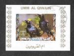 Sellos del Mundo : Asia : Emiratos_Árabes_Unidos : Mi1410BwBl - Aves