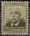 Stamps Spain -  Emilio Castelar