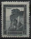 Stamps Spain -  Casas Colgadas Cuenca