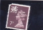 Stamps United Kingdom -  ISABEL II ESCOCIA