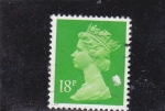Stamps United Kingdom -  ISABEL II