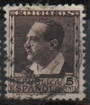 Stamps Spain -  Vicente blasco Ibañez