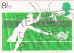 Stamps United Kingdom -  TENIS