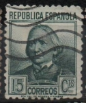 Stamps Spain -  Concepcion Arenal
