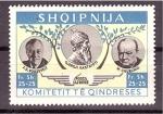 Stamps Albania -  Conmemoración