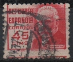 Stamps Spain -  Pablo Iglecias