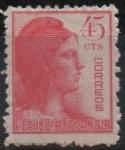 Stamps Spain -  Alegoria d´l´Republica