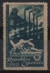 Stamps Spain -  Homenaje a los obreros d´Sagunrto